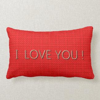 Liebe-Rot-Heiße (c) lumbale u. quadratische Größen Lendenkissen