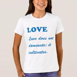 LIEBE: Sorgfalt-Leben-Partner-Romance T-Shirt