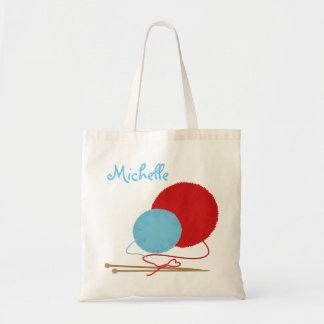 Liebe-strickende Tasche