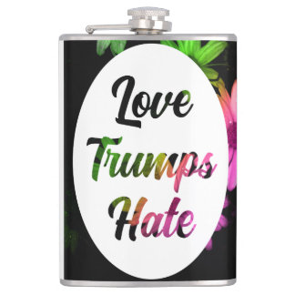 Liebe-Trumpf-Hassflasche Flachmann