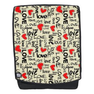 Liebe und Herzen Rucksack
