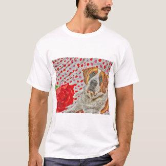 Liebe und Kuss-Shirt T-Shirt