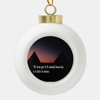 Liebe, Verhältnis Keramik Kugel-Ornament