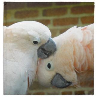 Liebe-Vögel Serviette