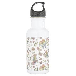 Liebe-Vogel-Wasser-Flasche Edelstahlflasche