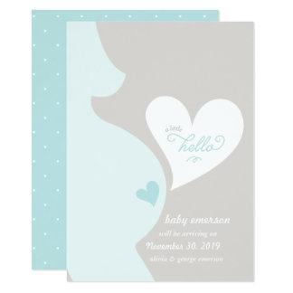 Liebe von der Bauch-Schwangerschafts-der Karte