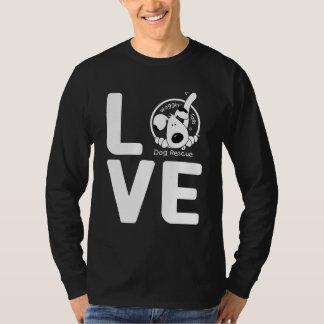 LIEBE Waggin Schwanz-Hunderettung T-Shirt