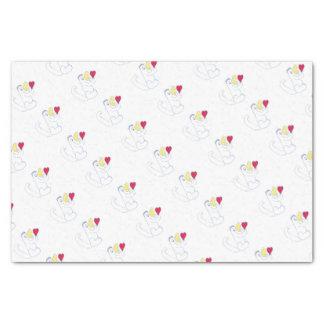 Liebe-Wanzen-Seidenpapier Seidenpapier