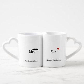 Liebeherr Frau personalisierter Name Liebestassen