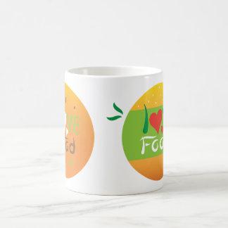 Liebenahrungsmitteldoppelt-Entwurfs-Tasse Tasse