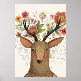 Liebes Deer Poster