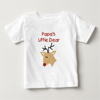 Liebes der Papa-Weihnachten des Papas Baby T-shirt