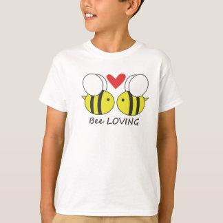 Liebevolle Bienen T-Shirt