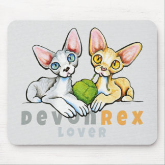 Liebhaber Devons Rex Mauspads