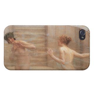 Lieblingsgewohnheit durch Lawrence Alma-Tadema iPhone 4 Schutzhüllen