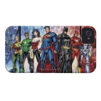 Liga-Anordnung der Gerechtigkeits-Liga-  neue der Case-Mate iPhone 4 Hüllen