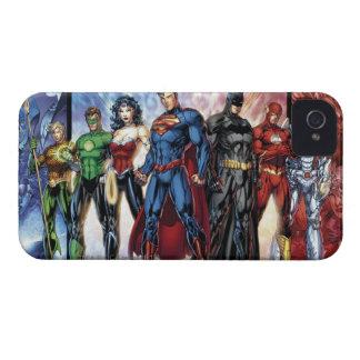 Liga-Anordnung der Gerechtigkeits-Liga-  neue der iPhone 4 Hüllen