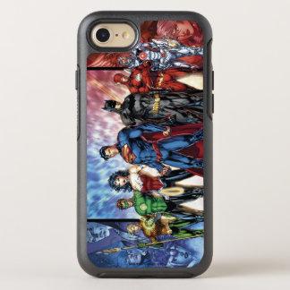 Liga-Anordnung der Gerechtigkeits-Liga-| neue der OtterBox Symmetry iPhone 8/7 Hülle