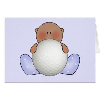 Lil Golf-Baby-Junge ethnisch Karte