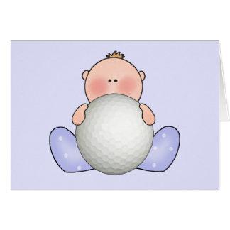 Lil Golf-Baby Karte