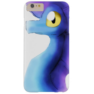 Lila/blauer Watercolor-Drache 1 Barely There iPhone 6 Plus Hülle