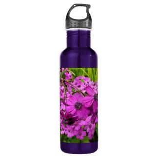 Lila Blumen von San Francisco Trinkflasche
