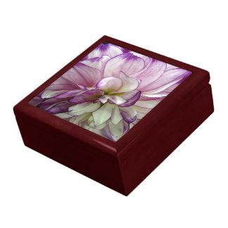 Lila Dahlie-Mahagonibaum-Geschenkboxen Geschenkbox