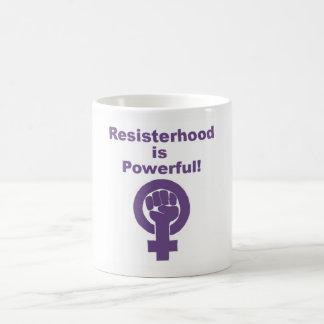 Lila feministisches Tassen-Geschenk für sie Tasse