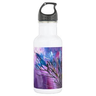Lila Freude Trinkflasche