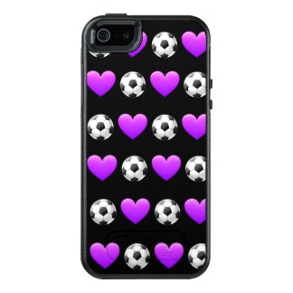 Lila Fußball-Ball Otterbox Fall iPhone SE/5 OtterBox iPhone 5/5s/SE Hülle