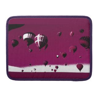 Lila Heißluft-Ballon Macbook Prohülse MacBook Pro Sleeve