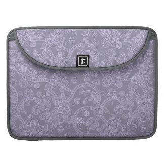 "Lila Hennastrauch 15"" Macbook Prohülse MacBook Pro Sleeves"