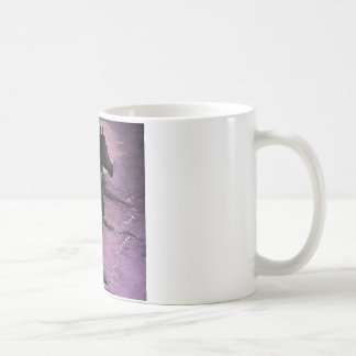 """Lila Nebel "" Kaffeetasse"
