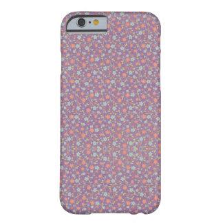 Lila niedlicher süßer Telefon-Mit Blumenkasten Barely There iPhone 6 Hülle