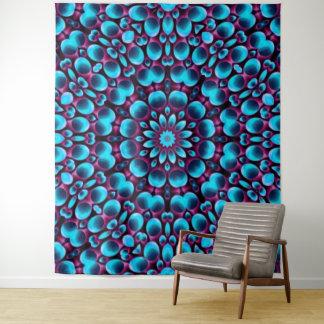 Lila Pfeifer-Vintage Kaleidoskop-Wand-Tapisserie Wandteppich