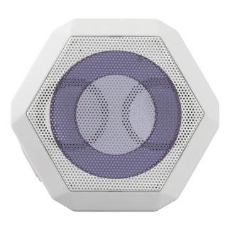 Lila Punkt Weiße Bluetooth Lautsprecher