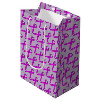 Lila Standardband Mittlere Geschenktüte