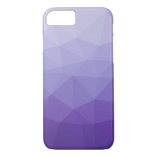 Lila Steigungs-Polygon iPhone 7 Kasten iPhone 7 Hülle