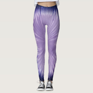Lila Universum Leggings