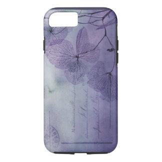 Lila Wasserzeichen iPhone 7 Hülle