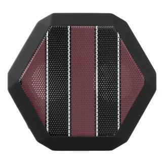Lila Wein-Farbiger Schwarz-Streifen Bluetooth Schwarze Bluetooth Lautsprecher