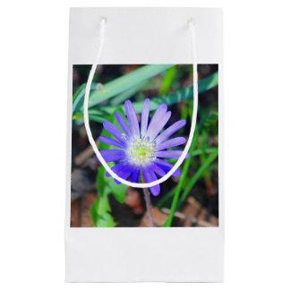 Lila Wildblume-Themed Geschenk-Tasche Kleine Geschenktüte