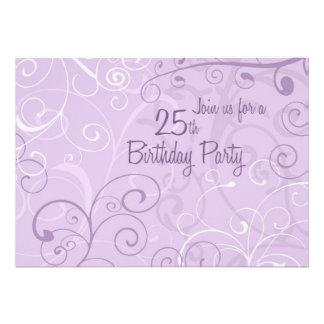 Lila Wirbels-25 Geburtstags-Party