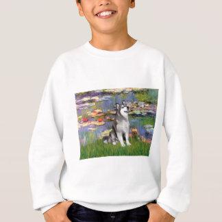 Lilien 2 - Alaskischer Malamute Sweatshirt