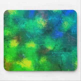 Lilien-Auflage-Grün Mousepad