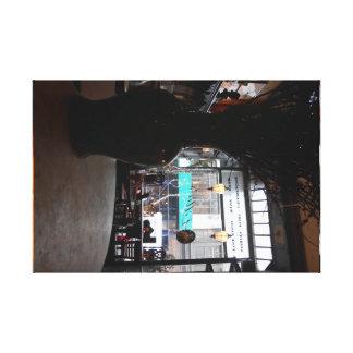 Lilien-Bar Leinwanddruck