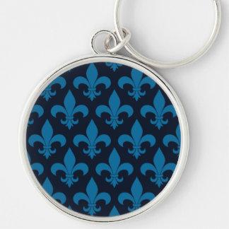 Lilien-Franzose-Symbol Schlüsselanhänger