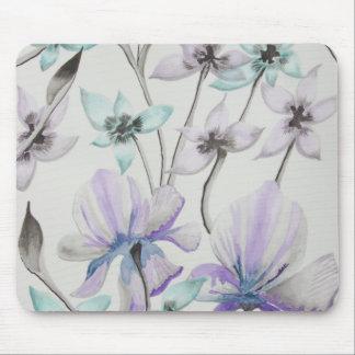 Lilien und Orchideen Mousepad