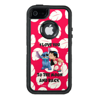 Lilo u. Stich | I Liebe Sie zum Mond OtterBox iPhone 5/5s/SE Hülle