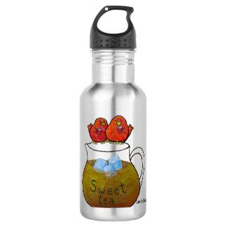 LimbBirds Wasser-Flasche (18 Unze), Edelstahl Edelstahlflasche